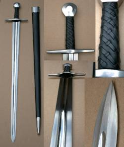 Damascus Marshall Knightly Sword