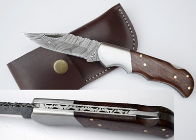 Damascus Custom Folder (2)