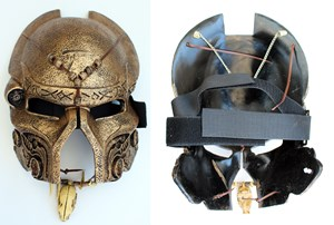 Gold Predator Mask
