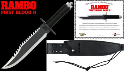 Official Rambo II Knife