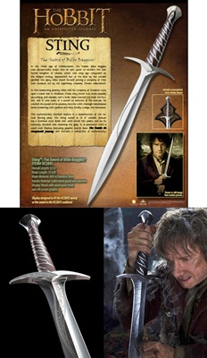 The Hobbit - Sting Sword